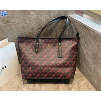COACH Fashion Women Shopping Bag Leather Tote Handbag Shoulder Bag 3#