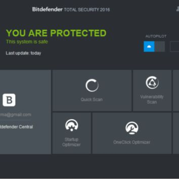Bitdefender Total Security 2016 Key Latest Free Download