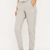 adidas Slim Grey Track Joggers - Urban Outfitters