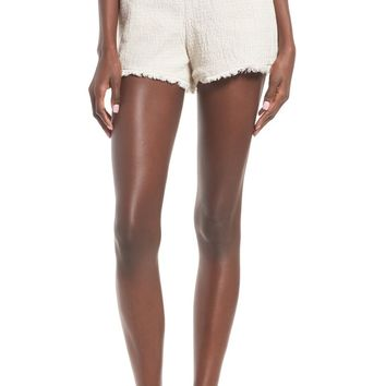J.O.A. High Rise Tweed Shorts | Nordstrom