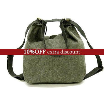 Sale!! Convertible bag Women Backpack purse Vegan backpack Crossbody purse Messenger bag back pack women cross body bag Zipper pocket