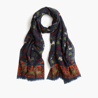 J.Crew Mens Drake's Predators And Prey Scarf