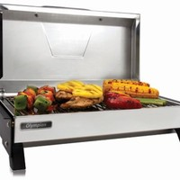 Camco RV Olympian 3500-C Stainless Steel Grill - Electric Camco Grills and Fire Pits CAM57240