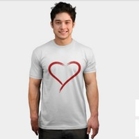 Simple Heart T Shirt By Sagaciousdesign Design By Humans