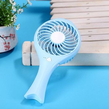 USB Charging Mini Fan Creative Portable Cute Fish Baby Blower Desktop Smart Home Appliances
