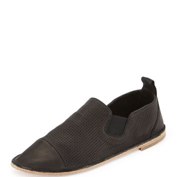 VINCE Iona Leather Slip-On Loafer,