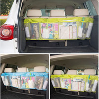 Car Trunk Organizer Bags 110cm*34cm Car Toys Food Storage Container Bags Automobiles Auto Styling Hanging Storage Bag