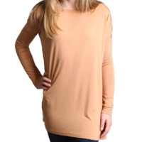 Iced Coffee Long Sleeve Top