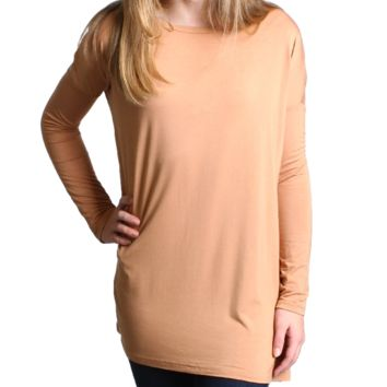 Iced Coffee Piko Kids Long Sleeve Top