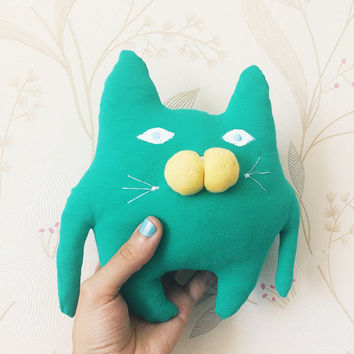 Discount, Softie green Stuffed Sale Cat Plush Toy