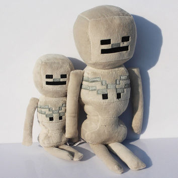 big size 36CM Minecraft Plush sqid plush Toys enderman Jockey Skeleton Plush