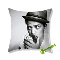 Bruno Mars AR Square Pillow Cover