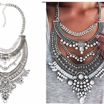 Yonce Statement Necklace