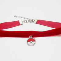 Pokeball Choker