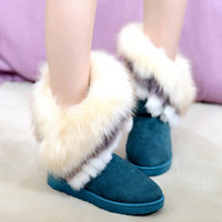 Warm women boots 2016 fashion new arrivals Ladies winter boots snow shoes