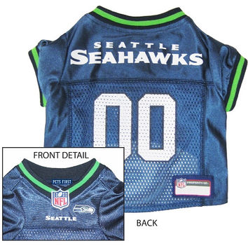 Seattle Seahawks Jersey Large