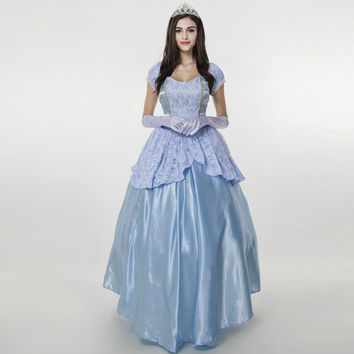 Halloween Blue Palace Costume [9220887108]