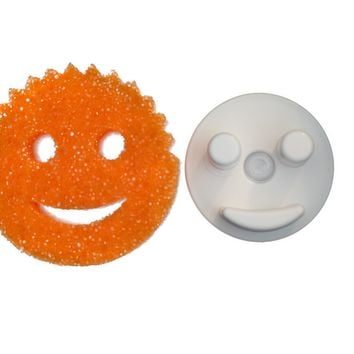 Pack of 2 Scrub Daddy The Scratch Free Sponge (Lemon Color)