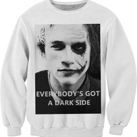 Heath Ledger Joker Quoted Pullover