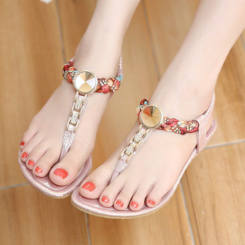 Summer Design Summer Ladies Wedge Sandals = 4804982212