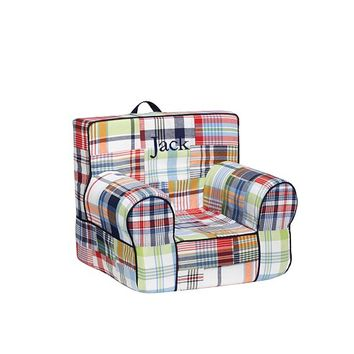 Navy Madras My First Anywhere Chair