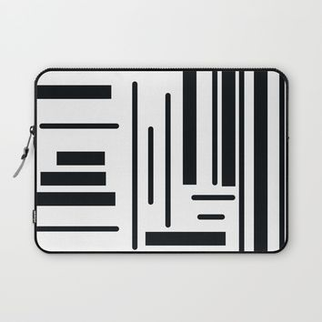 Stripes Laptop Sleeve by Moonlit Emporium