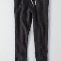 AEO Men's Fleece Jogger (Storm Heather)