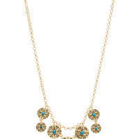 House of Harlow Maricopa Coin Collar Necklace in Gold