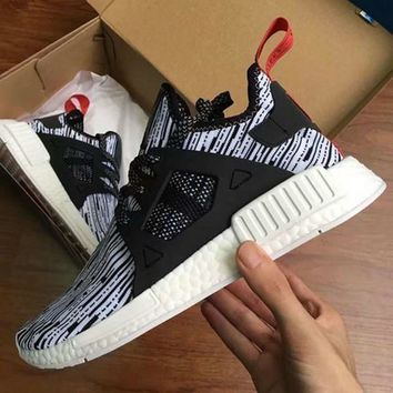 Beauty Ticks 2017 Nmd Xr1 Iii Running Shoes Mastermind Japan Skull Fall Olive Green Glitch Black Wh