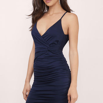Last Night Halter Midi Dress