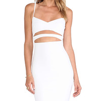 Nookie Bridget Bustier Dress in White