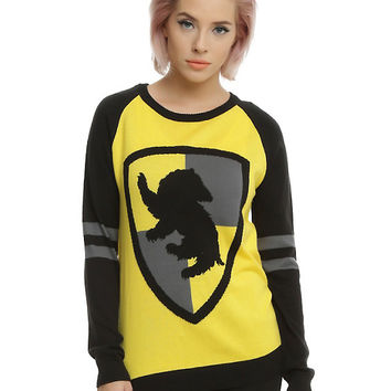 Harry Potter Hufflepuff Girls Sweater