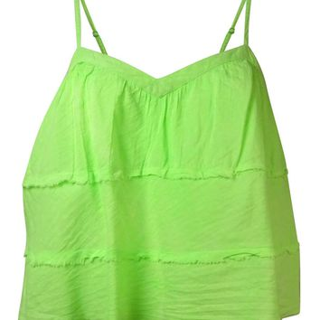 Guess Women's V-Neck Multi-Tiered Tank Top