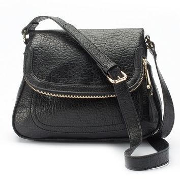 Jennifer Lopez Emily Crossbody Bag (Black)