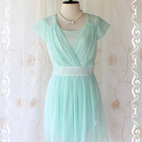 Beautiful Song  Sweet Feminine Candy Minty by LovelyMelodyClothing