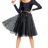 Popped Bubbles Midi Skirt - LIMITED