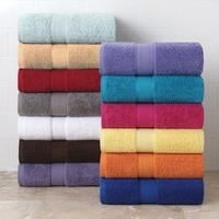 Jumbo 100% Cotton Bath Towel Collection - Wash Towel - Lipstick