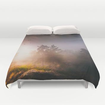 Cleansing Duvet Cover by HappyMelvin