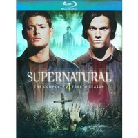 Supernatural: The Complete Fourth Season (4 Discs) (Blu-ray) (Widescreen)