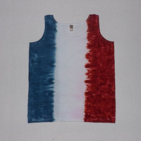 Tie Dye Pride - Get this made in your country colors, school colors, favorite sports team palette, etc. - Any Size and Style Available
