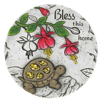 Garden Stepping Stone Bless This Home