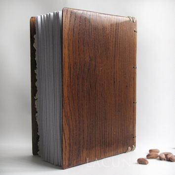 Warm colors wood journal Reclaimed
