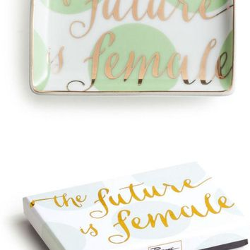The Future Is Female Trinket Tray