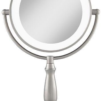 Zadro 12X & 1X Magnification Ultra Bright LED Touch Lighted Vanity Makeup Mirror