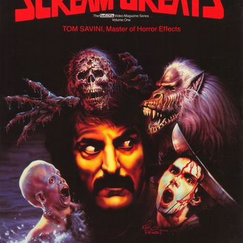 Scream Greats, Vol. 1: Tom Savini, Master of Horror Effects 11x17 Movie Poster (1986)