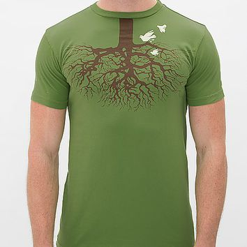 Brown Sound Fly Lower T-Shirt
