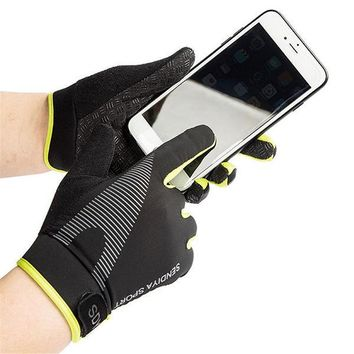 Outdoor Sports Running Gloves Touch Screen Anti-slip Climbing Thin Section Riding Elastic Gloves