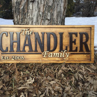 Family Name Signs Family Name Lawn Signs Family Name Signs for Outside family name signs for outdoors last name sign for wedding Family Gift