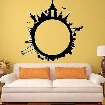 Wall Stickers Tourism Travel World TourbLiving Room Decor Vinyl Decal Unique Gift (ig1967)