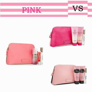 On Sale Hot Sale Beauty Hot Deal Patchwork Waterproof Storage Make-up Bag [12149147475]